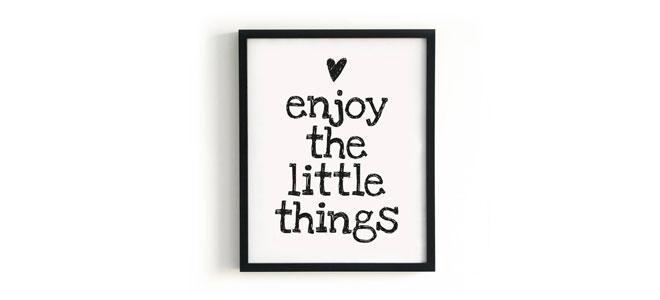 Little Things Vivere Bene con piccole cose