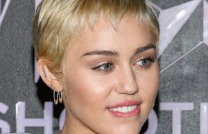 Miley Cyrus @ W Magazine's Shooting Stars Exhibit