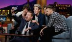 One Direction Late Late Show James Corden