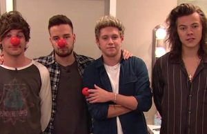 One Direction Red Nose Day US