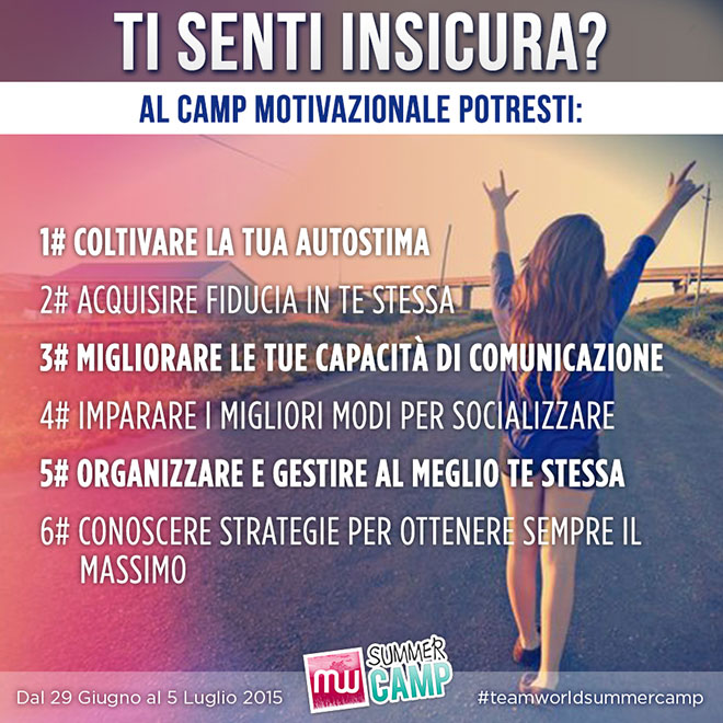 Camp Motivazionale Team World
