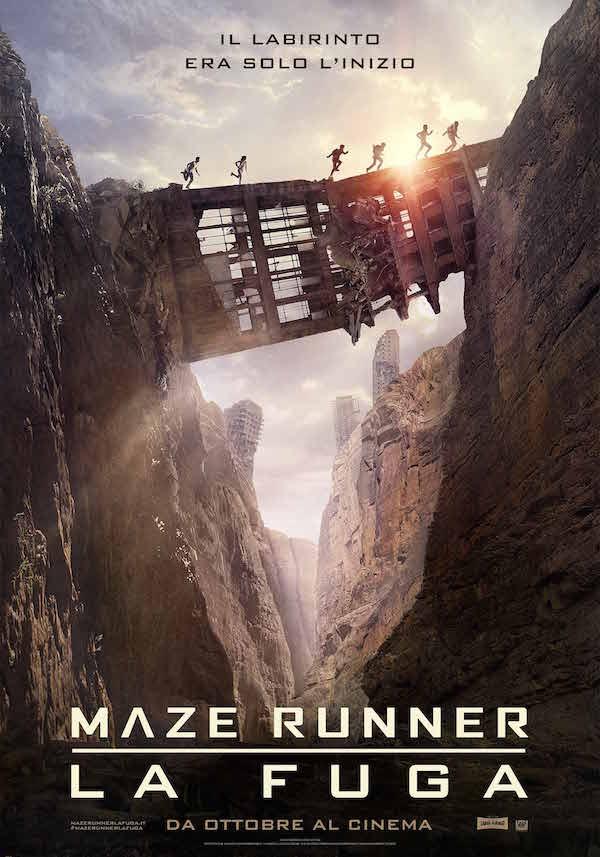 Maze Runner La Fuga poster web