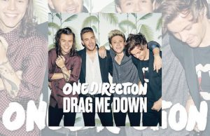 One Direction Drag Me Down cover