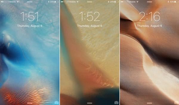 iOS 9 sfondi