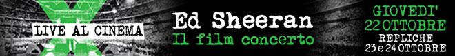 Ed Sheeran film banner