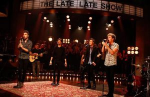 1D the late late show