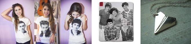 Team World Shop Natale One Direction T shirt