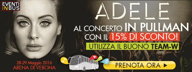 Adele concerti bus