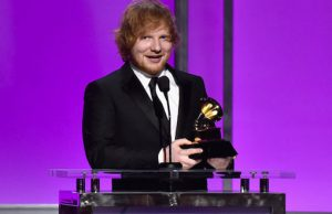 Ed Sheeran Grammy Awards 2016