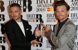 Brit Awards 2016 Louis Liam