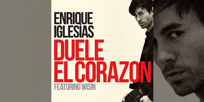 Testo E Traduzione Duele El Corazon Enrique Iglesias Team World