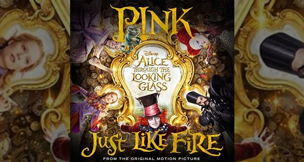 Pink just like fire per disney alice attraverso lo specchio team world - Dylan dog attraverso lo specchio ...