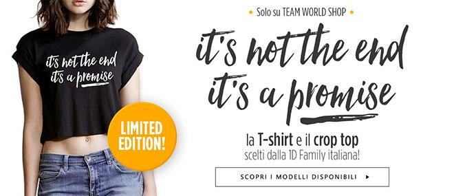 Tshirt 1D Family Team World Shop