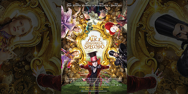 Alice attraverso lo specchio l 39 anteprima nazionale a milano su sky cinema team world - Alice e lo specchio ...