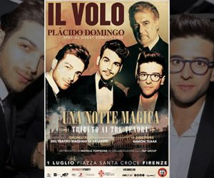 Il Volo Placido Domingo Firenze
