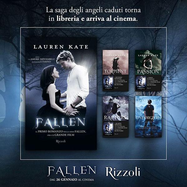 Fallen Saga libri