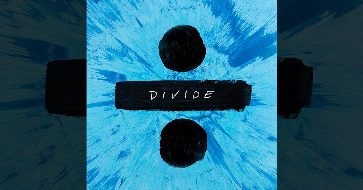 Divide cover album Ed Sheeran