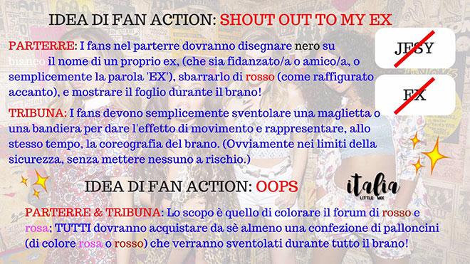 Little Mix Fan Action