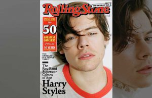 Harry Styles Rolling stone cover