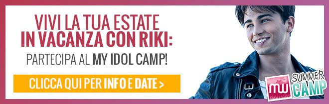 My idol Camp Riki