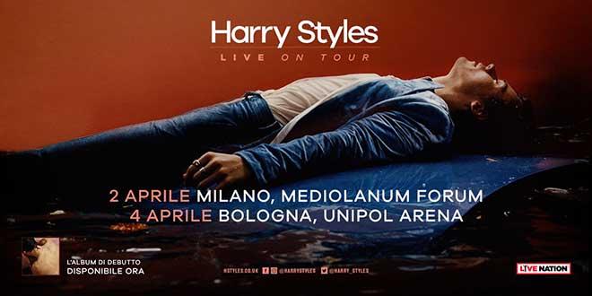 Harry Styles concerti 2018 italia