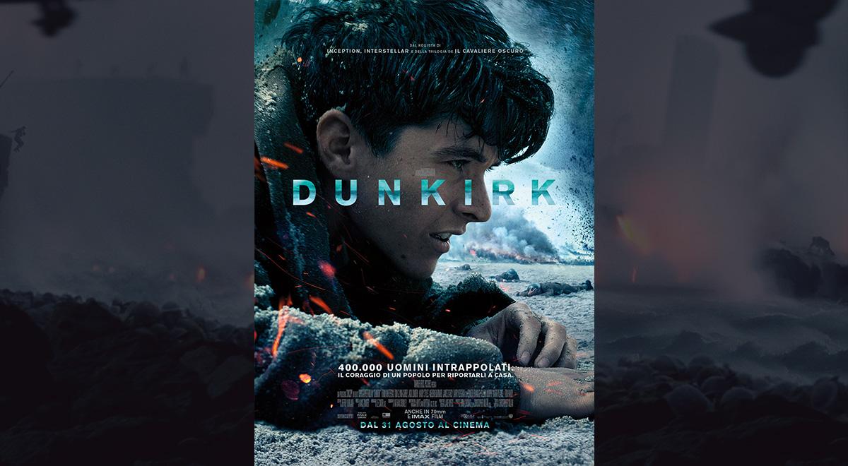 Dunkirk cinema locandina biglietti