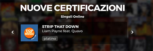 Strip That Down Disco Platino Liam Payne