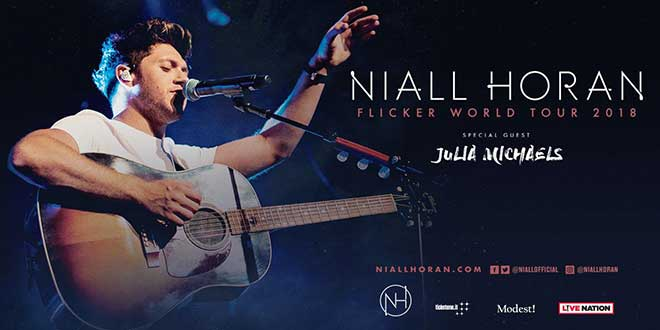 Niall Horan Flicker World Tour 2018