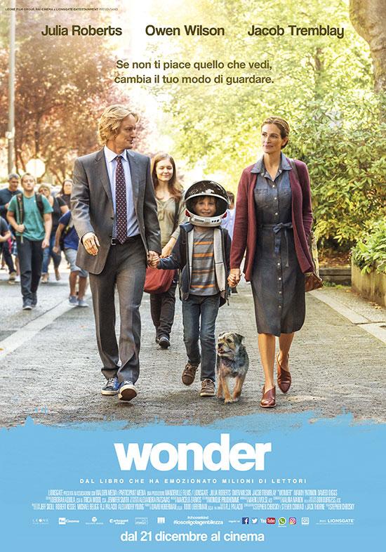 Wonder manifesto film locandina