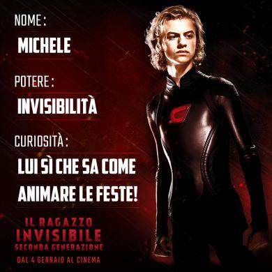 I Protagonisti De Il Ragazzo Invisibile Seconda Generazione I Poster