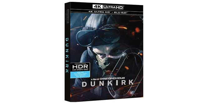 Dunkirk film 4k ultra HD Amazon
