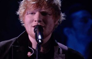 Ed Sheeran X Factor 11 Italia