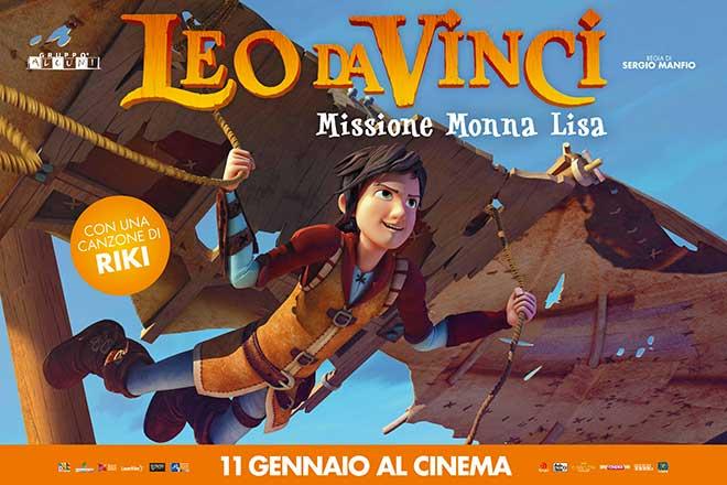 Leo da Vinci poster film