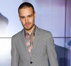 Liam Payne Fendi Milano Fashion Week