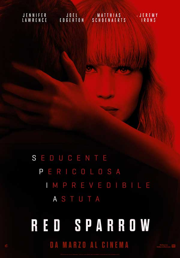 Red Sparrow poster film