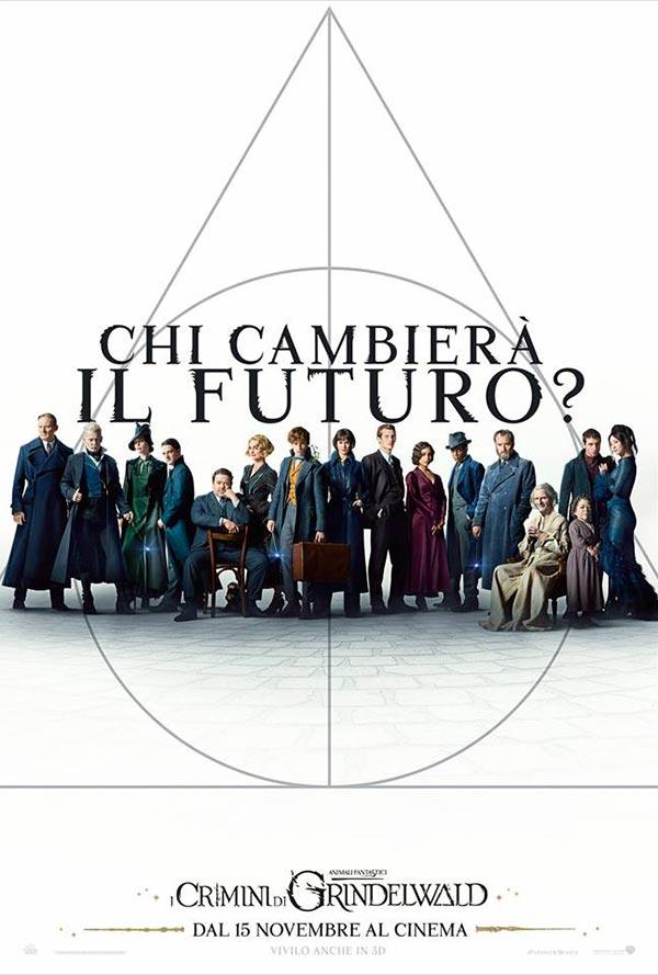 Animali Fantastici: i crimini di Grindelwald poster italiano