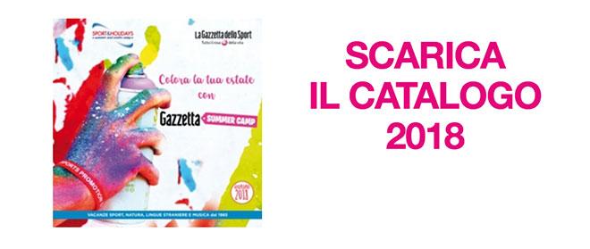 Catalogo Gazzetta Summer Camp 2018