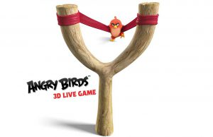Angry Birds 3D Live Game Milano