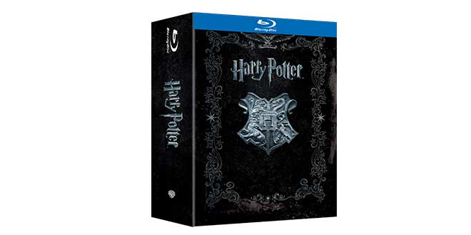 HARRY POTTER film cofanetto blu-ray