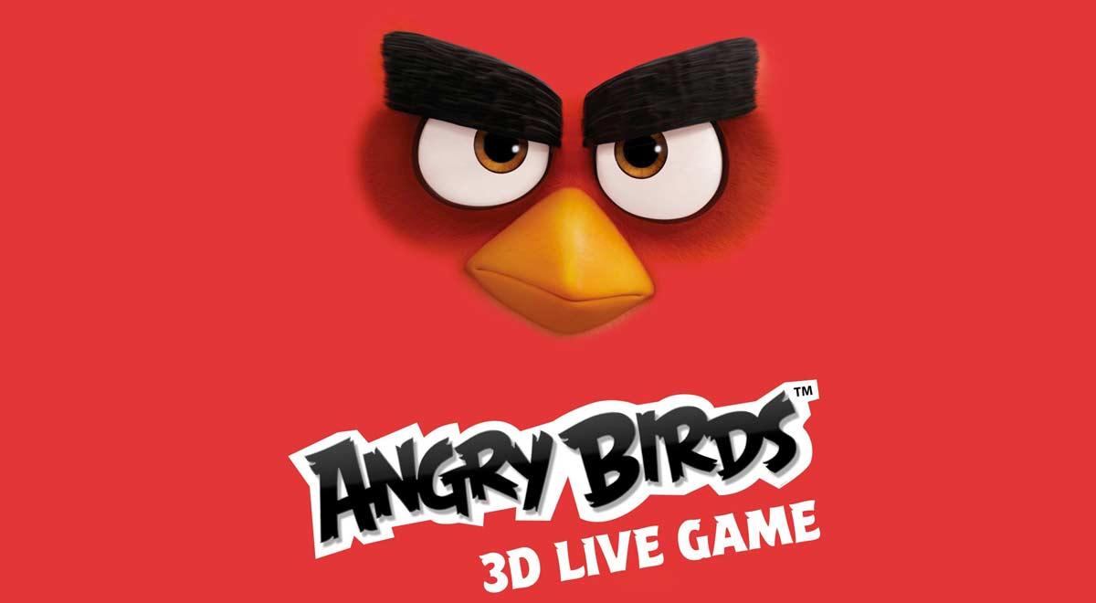 Risultati immagini per ANGRY BIRDS 3D LIVE GAME