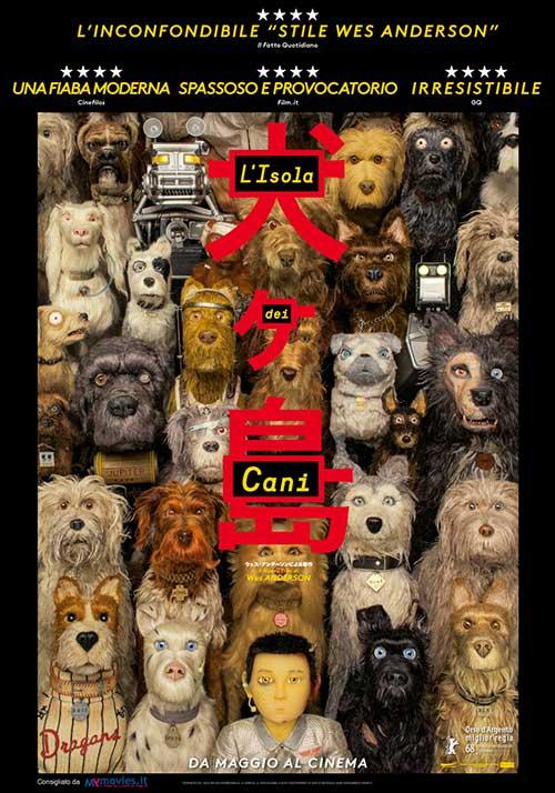 l isola dei cani poster locandina film Wes Anderson