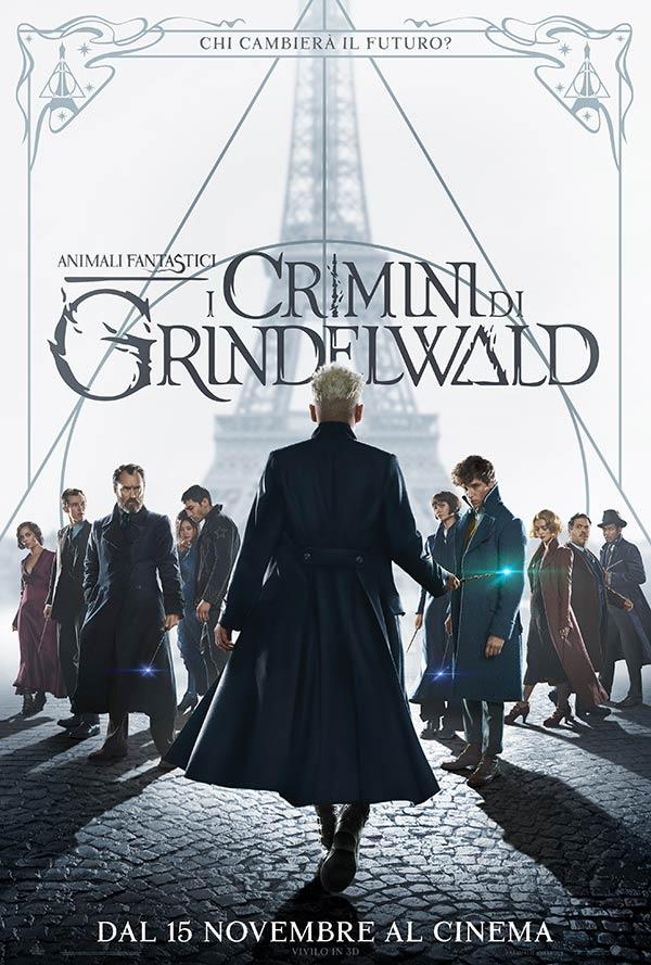 Poster del film Animali Fantastici: i crimini di Grindelwald