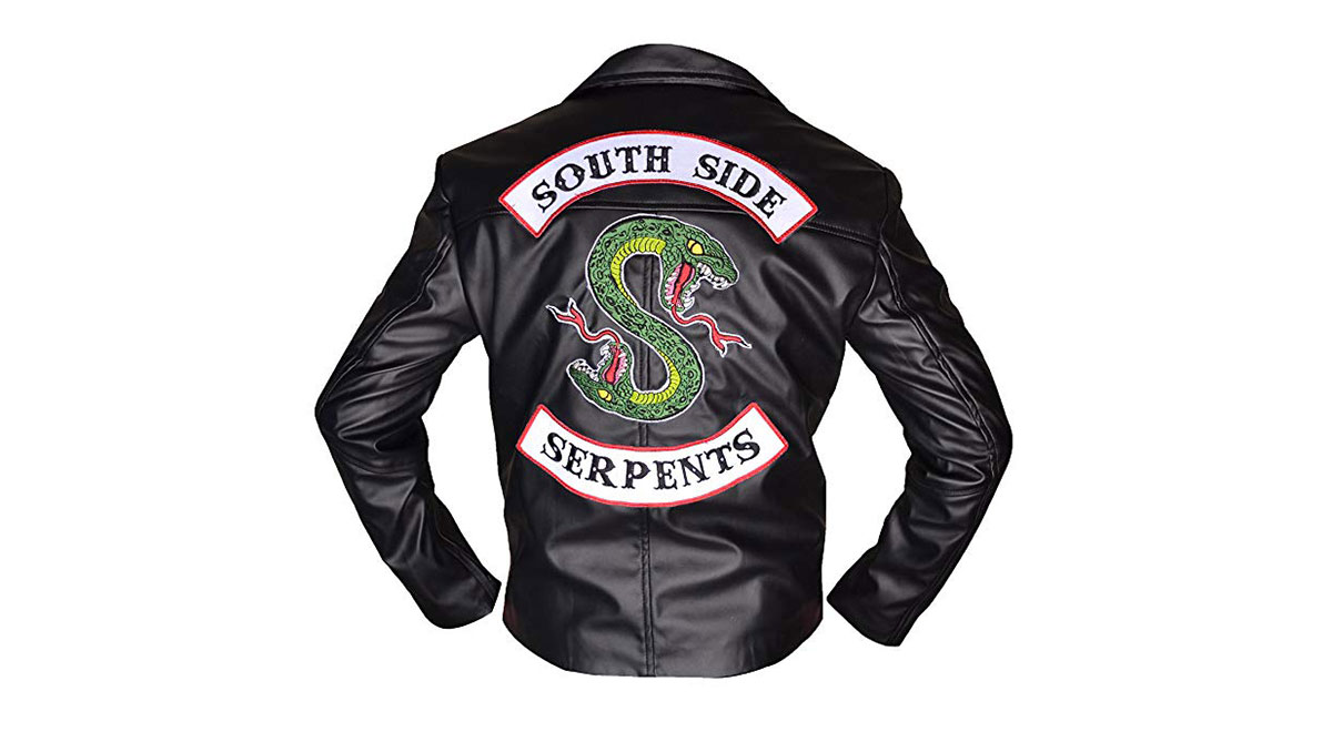 Online Serpents Riverdale Giacca Southside Dove Comprare fYbgy76