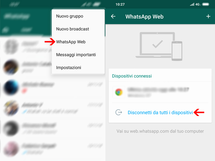 Come spiare WhatsApp da Android