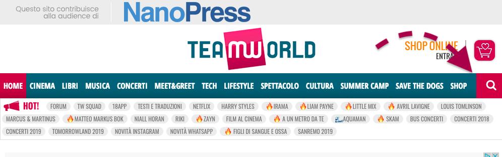 TeamWorld icona ricerca da desktop
