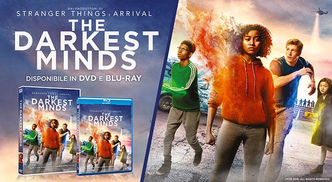 Darkest Minds DVD Blu-ray contenuti speciali