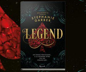 Legend libro copertina