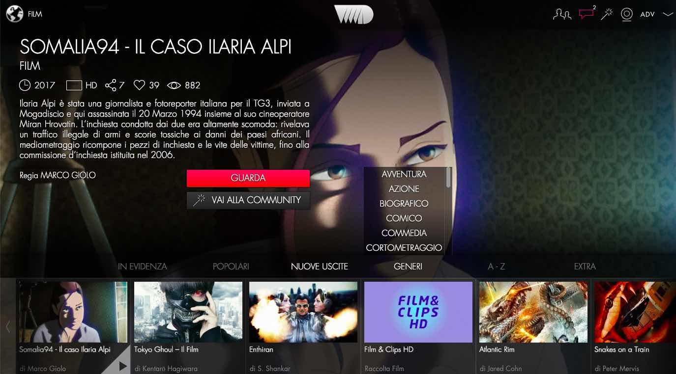 VVVVID portale streaming gratuito
