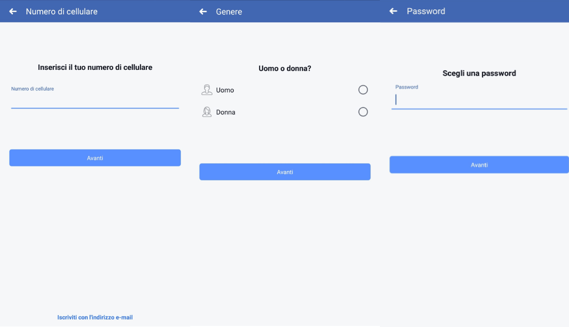 facebook app account nuovo
