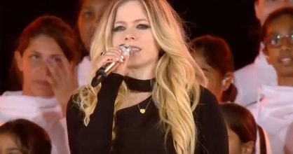 Avril Lavigne Special Olympics 2019 video